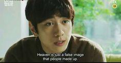 """Heaven is just a false image that people made up"" - Madam Antoine  #kdrama #koreandrama #dramakorea #drakor #drama #korea #dramaquotes #kdramaquotes #quotes #quote #instaquotes #dailyquotes #koreabasecamp #sungjoon #jtbc #madamantoine #heaven #image #false"