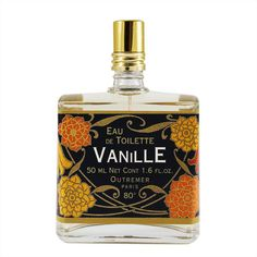 Outremer, formerly L'Aromarine Vanille Eau de Toilette 50ml Spray it's a sweet, simple vanilla fragranc smells much like a big scoop of French vanilla ice cream as well as brown sugar.