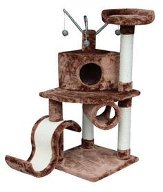 Cool Modern Cat Furniture with Scratching Poles
