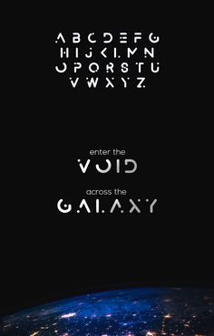 Alexana is an abstract minimal and stylized typeface inspired by outer space. The font is all uppercase and works awesomely for creating posters, logo...