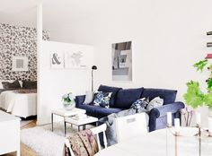 11 gorgeous studio apartments to inspire you mydomaine - Studio Apt Design Ideas