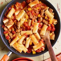 Rachael Ray's Rigatoni with Sausage, Pumpkin and Tomato Sauce 30-Minute Meal