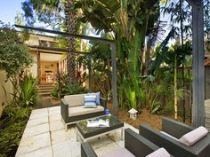 1000 images about landscape on pinterest tropical for Tropical house plans with courtyards