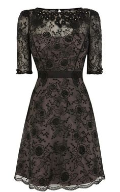 (http://www.bitsnbags.com/betty-black-nude-baroque-lace-embroidery-short-sleeve-studded-tutu-dress/)