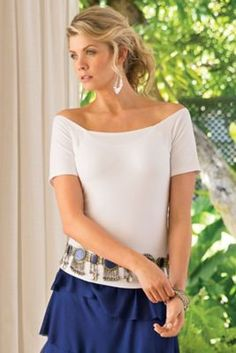 Underwire Tee from Soft Surroundings