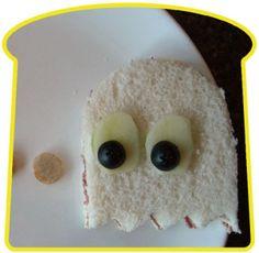 Sandwich fantasmita de PacMan.