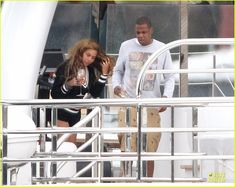 Beyonce Jay-Z Vacation On Yacht in France | Beyonce & Jay Z: Yacht Vacation in France with Blue Ivy!