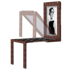 diy how to make wall mounted table picture frame