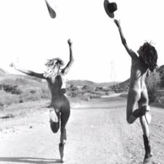Let's throw our hats in the air and run around naked..