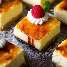 Two of the worlds best desserts come together to make these unbelievably deliciousCrème Brûlée Cheesecake Bars. I don't think I could express in words how...