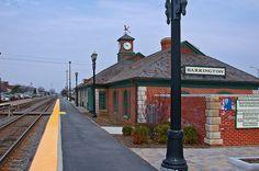 Barrington Train Station Clock