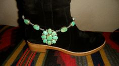 ~Papaw~  Western Boot Anklet  https://www.facebook.com/pages/Olav-Jules-Designs-by-Cat-Sandstrom/202450083152611
