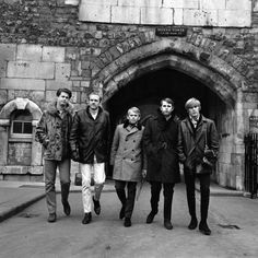 The Beach Boys tour the Tower of London, November 1964
