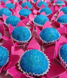 Doce Panela- Brigadeiro com açúcar colorido