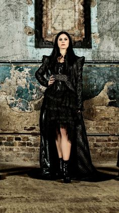 Cristina Scabbia of Lacuna Coil Black Metal, Heavy Metal, Lacuna, Cristina Scabbia, Bullet For My Valentine, Siouxsie & The Banshees, Symphonic Metal, Gothic Metal, Greatest Rock Bands