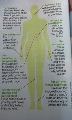 The headache cure totally worked! Taken from Redbook