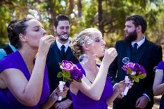 What happens if you are the 1st girl in your gang to get hitched: Friends of the bride, having fun