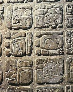 Mayan History, Ancient History, Mayan Glyphs, Mayan Symbols, Arte Latina, Maya Civilization, Inka, Arte Tribal, Art Premier