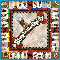 German Shepherd board game - This is so cool! Lets play! #germanshepherd