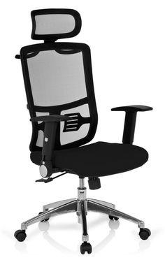 Amazon.de: HJH Office 653700 Bürostuhl, Drehstuhl Cayen Stoff, schwarz