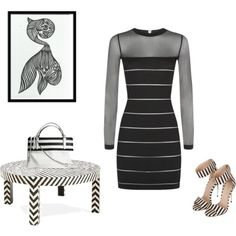 """""""Striped Contest!"""" by repchamp on Polyvore"""
