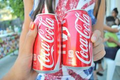 QOTD: Coca-Cola or Pepsi?!    AOTD: Coca-Cola!! I don't really drink pop (or soda, whatever you call it) but Coke is one of my favorites!