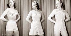 1940s underwear for wearing under pants