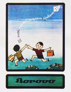 Borovo - 1960-tih - plaklat