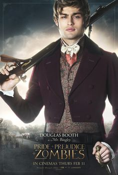Pride and Prejudice and Zombies Douglas Booth Poster