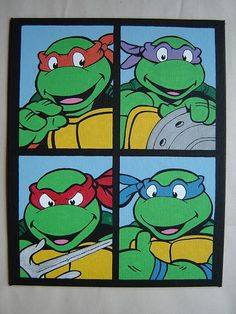 #tmnt if I have a baby boy one day, I will make this the theme of his room