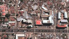 Aerial view of Maekelawi detention center in Addis Ababa. Source: Google Earth, courtesy of Human Rights Watch.