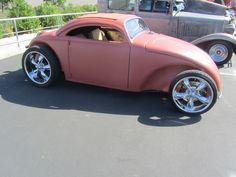 VW Beetle Custom, the front axles has been moved. The door lines look a little off though. Vw Beetle Custom, Custom Vw Bug, Custom Cars, Custom Bikes, Combi Wv, Vw Rat Rod, Hot Vw, Vw Classic, Vw Cars