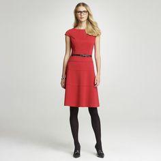 Anne Klein: Dresses > Work > Ponte Swing Dress