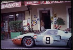 1968 Le Mans Hôtel de France, J. Automotive Engineering Ltd. with the Ford (Bianchi-Rodriguez) . # Inside The Motorsport Paddock #
