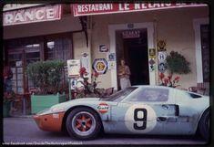 1968 Le Mans 24h, Hôtel de France, J. W. Automotive Engineering Ltd. with the Ford GT40 #1075 nr9 (Bianchi-Rodriguez) 1ft . ©Hôtel de France . # Inside The Motorsport Paddock #