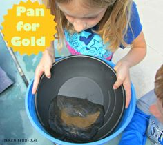 Learn how to pan for gold