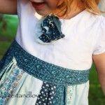 Re-purposing: Skirt/Shirt into a Dress