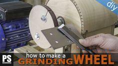 En este artículo fabricaré esta rueda de afilado para acoplar a mi torno y así poder afilar todas mis herramientas.