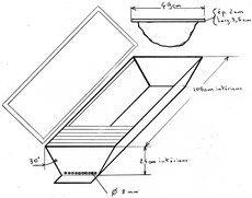 Plans for a top bar hive. | Plans de ruche, Apiculture ...