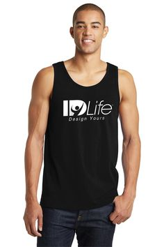 ID Life black muscle shirt