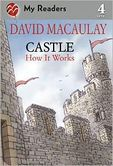 Castle: How It Works.  David Macaulay takes readers on a fascinating tour of a medieval castle. Readers learn about the design of the castle as well as the people who lived in it. Designed for early readers, this book can be read alone or together depending upon the individual reading level.  Appropriate for students in grades 1-4.