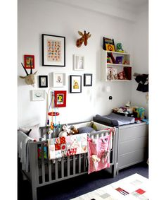 grey kids rooms