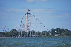 Millenium Force and Top Thrill Dragster