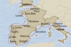 Hmmmm... London to Rome...