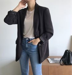 Korean Fashion – How to Dress up Korean Style – Designer Fashion Tips Look Fashion, Korean Fashion, Girl Fashion, Fashion Outfits, Womens Fashion, Fashion Ideas, Classy Outfits, Casual Outfits, Cute Outfits
