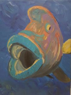 Freaky fish SOLD
