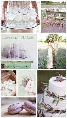 Lavender & Love | Wedding Inspiration - Want That Wedding