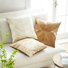 Cowhide Pillow Cover – Ogee