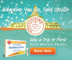 Oscillo Sweepstakes - Win a Trip to Paris for 2! Ends 3/11