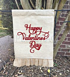 Valentines Day Garden Flag, Valentines Day Decorations, Valentine Decorations, Valentines Day Decor, Valentine Decor, Valentine Home Decor by PiperGraceGifts on Etsy